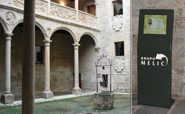 Pantalla táctil museo Ciudad Rodrigo