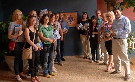 La Guía del turista con el proyecto Comenius