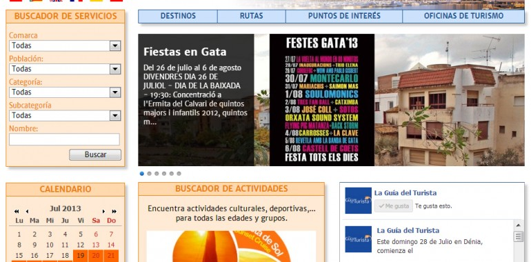 Web reformada! laguiadelturista.es
