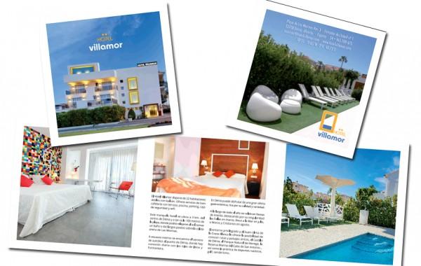 Diseño Trípticos Hotel Villamor