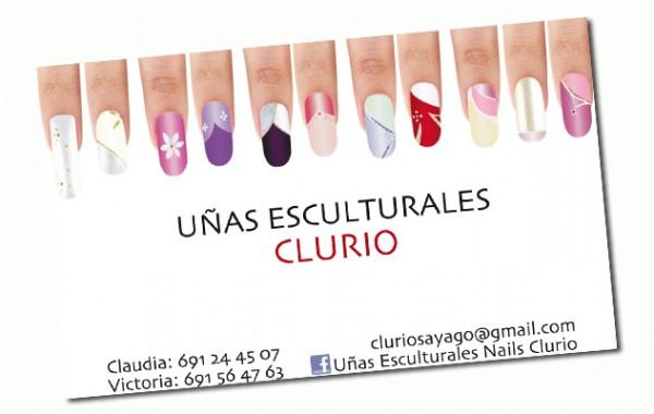 Diseño de tarjetas Clurio