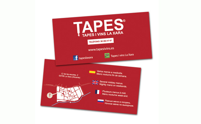 "Flyers ""Tapes i Vins"""