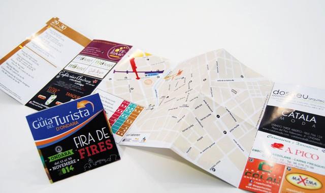 Plano de la Feria de Ondara 2014
