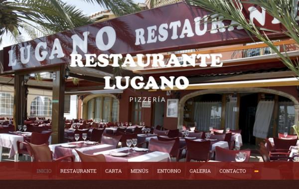 Nueva web de Pizzería Lugano Dénia