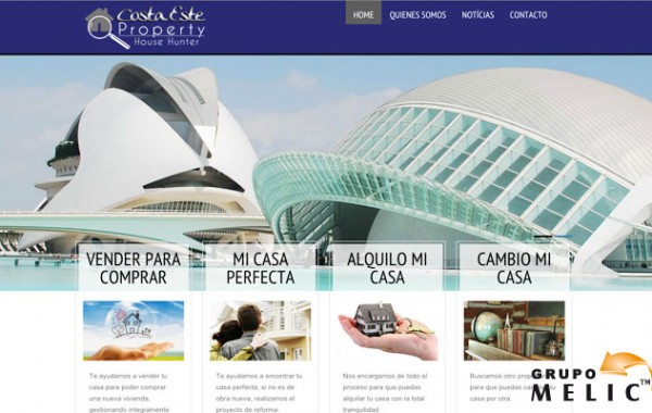 Desarrollo web Costa-Este Properties