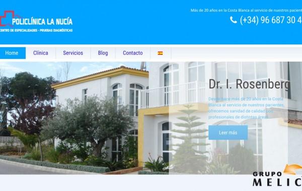 Nueva web Policlinica La Nucia