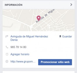 ¿Está tu empresa bien ubicada en facebook?