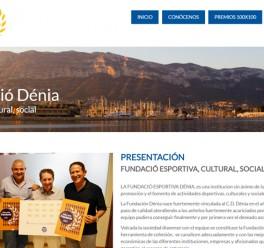 Web Fundació Dénia