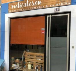 Melicatesen, tienda de productos de la comarca de La Marina